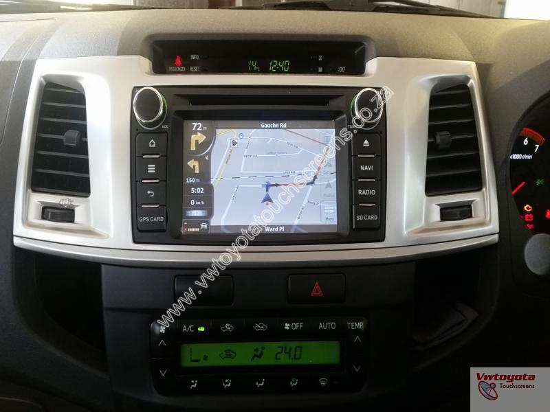 Toyota Hilux/Fortuner 2012-2015 GPS Navigation + Free Maps ...