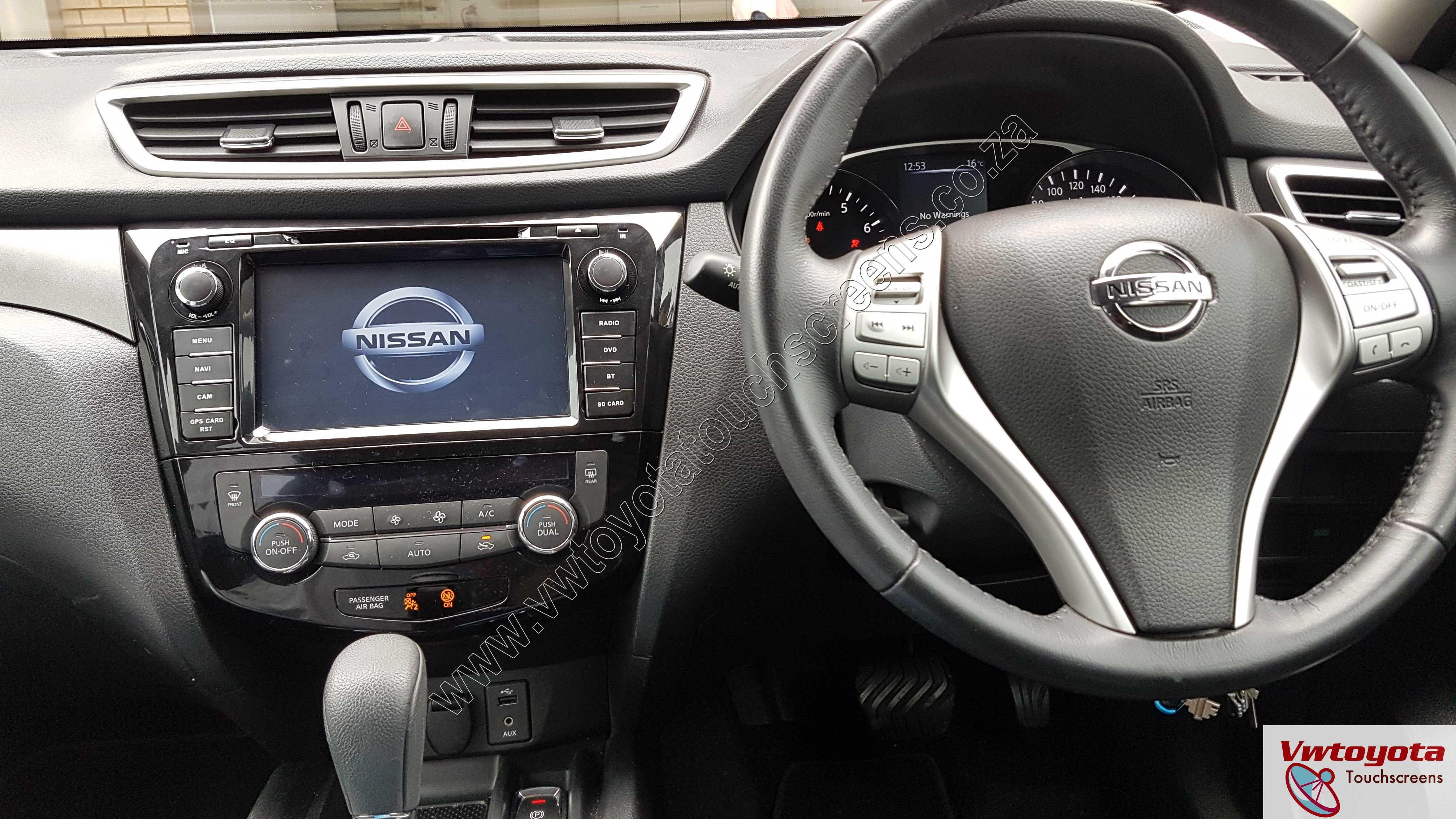 Nissan X-Trail / Qashqai (2014-2018) GPS DVD GPS touch ...